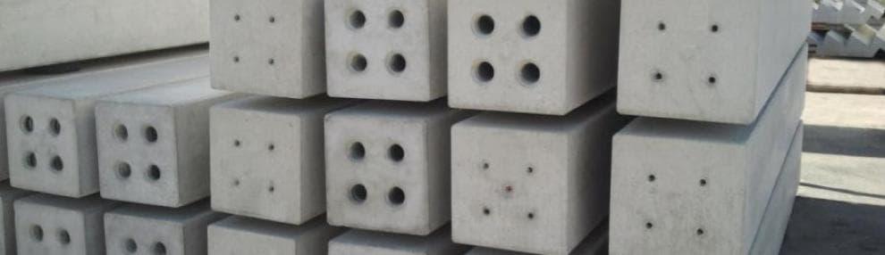 Betonbouw prefabricatie kolom