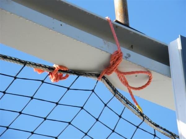 Veiligheidsnetten steeldeck industriebouw