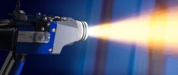 pistool zinkspray voor metalliseren