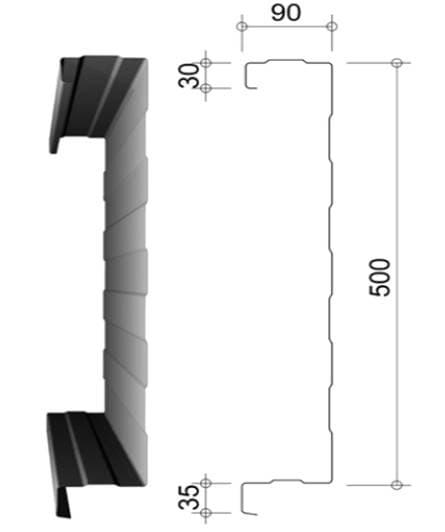 Snede van binnendoos