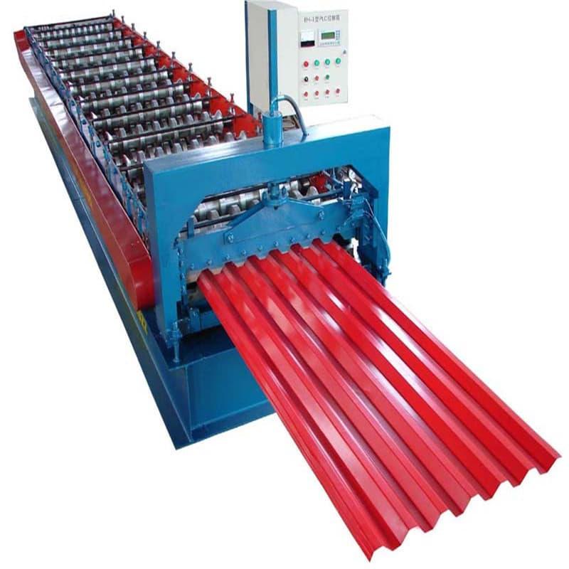 Walsmachine voor staalplaat