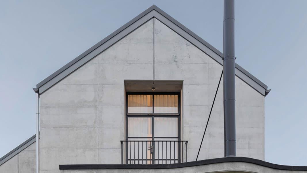Industri le woning staalstructuur of betonbouw for Staalbouw woningen