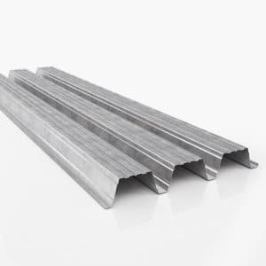 steeldeck 106mm gegalvaniseerd interieurcoating wit