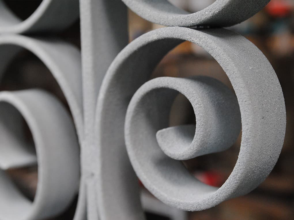 Metallisatie van staal